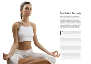Resolution Retreats Magazine Article