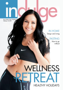 Founder, Joelene Ranby, cover of Indulge Magazine
