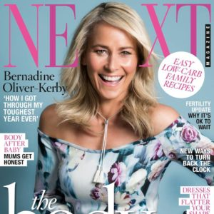 Bernadine Oliver-Kerby on cover of NEXT magazine